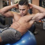 Working at abdomen muscles is not easy